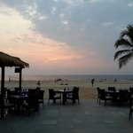 Sunset at the best beach side restaurant in South goa....susegado...