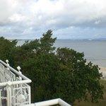 Schöner Ausblick vom Balkon