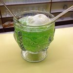 Lime and Lemon ice cream float soda
