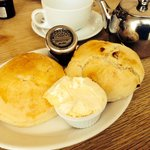 Hampshire cream tea