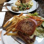 Hamburger di cammello - Pollo con lime