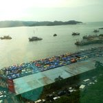 South China Sea and the harbor market