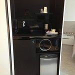 Sink + Microwave + Daily Tea;coffee;salt;sugar + Water Heater