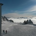 На вершине ледника. Высота 3250 м