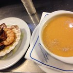 Fish soup and octopus?