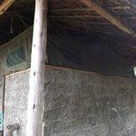 la tenda dall'esterno