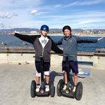 Venice Pier - Father Son Segway Tour.