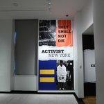 Activist New York temporary exposition