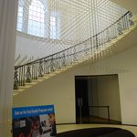 The lobby and the main staircase