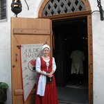 Hostess at Olde Hansa