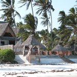 Hotel depuis la plage