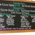PRICES FOR THE FILLING STATION