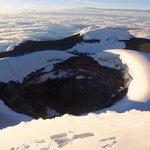 Cotopaxi summit, 31st Jan 2014
