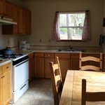 Cabin #11 Kitchen