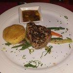Fresh caught Tuna Steak, delicious!