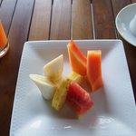 Fruir platter for breakfast