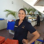 Marichuy.One of the restaurant supervisors.Excellent leadership skills and very personable.