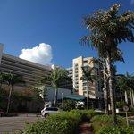 Hilton Barbados front view