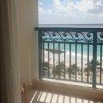 Hilton's ocean view