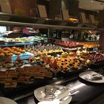 Dessert bar at the buffet