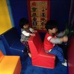 幼童區模擬巴士區域