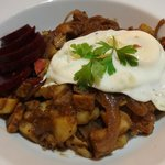 Biksemad Danish hash for my main course