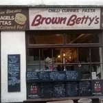The outside of Brown Betty's