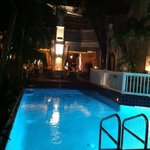pool at night ~ lovely:)