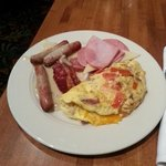 Breakfast brought from Heaven's Kitchen ��
