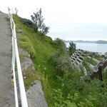 "The ""Zikk-Zakk Veien"" - The Zig Zag Way to the Top of the Hill in Hammerfest, Norway"