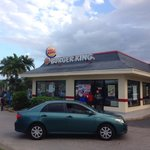 Burger King in front of the resort, whopper tasted just like the ones I eat in Canada