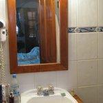 Waschbecken bietet kaum Ablagemöglichkeiten