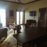 from August '13 stay - one of the larger suites great room