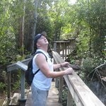 Visiting the Parrot Reserve