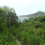 Vista da praia Cuatro Ilhas!