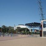 Complexo Olímpico em Sydney.