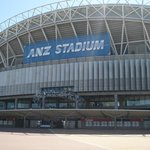 ANZ Stadium no complexo olímpico.