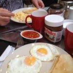 Fantastic cooked breakfast, cereal, juice, coffee & tea provided