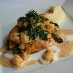 North Sea Turbot with ragout of crustaceans