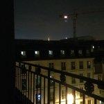 EIFFEL TOWER AT  NIGHT ,,, FOGGY