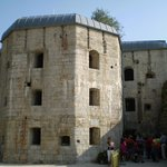 L'esterno della fortezza