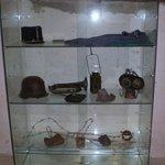 Alcuni oggetti in esposizione