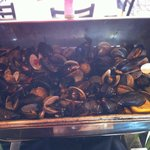 mussels & clams - brunch