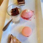 Les Alpes dessert platter