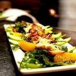 Scallop and Arugula Saladf