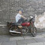Street art - Chinese Banksy?