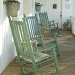 Rocking chair porch - one of two