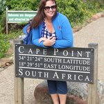 Cape Point where the two oceans meat
