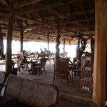 the amazing dinning room-high up on stilts