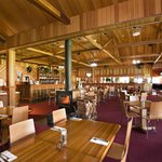 Bistro with many stunning timber features